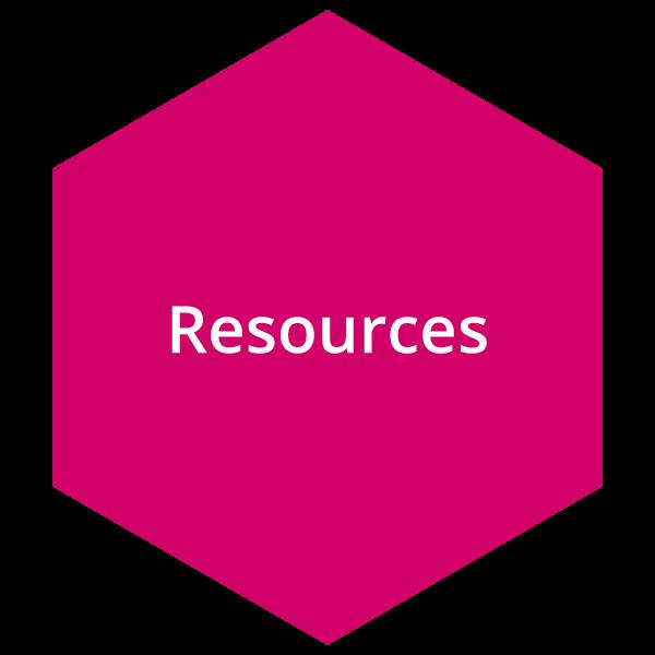 Pink resource button