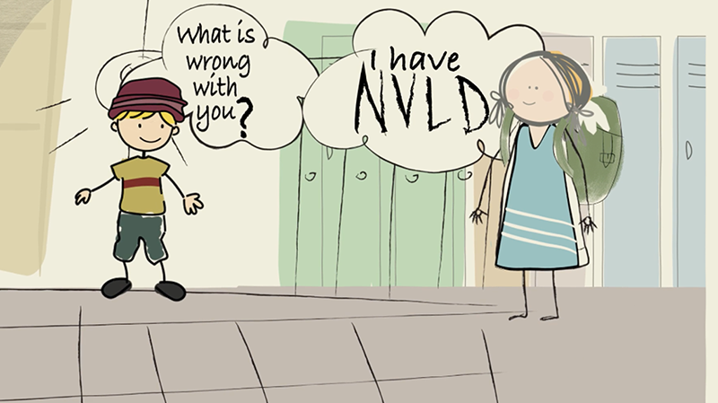 "Cover photo for the video ""What Is NVLD?"""