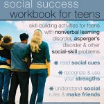 The Social Success Workbook for Teens book cover