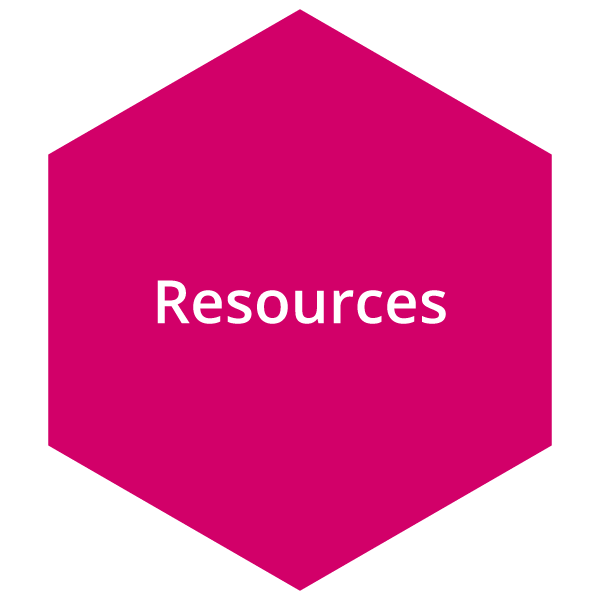Pink resource button